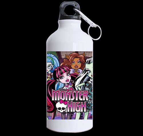 Custom Monster High picture 100% super-strong recycled aluminum Sports Water Bottle Mug 13.5 OZ (Twin Sides) by ()