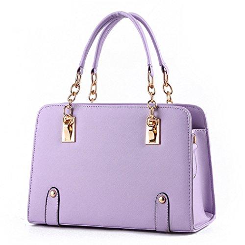 Generic ,  Mädchen Damen Tasche Violett