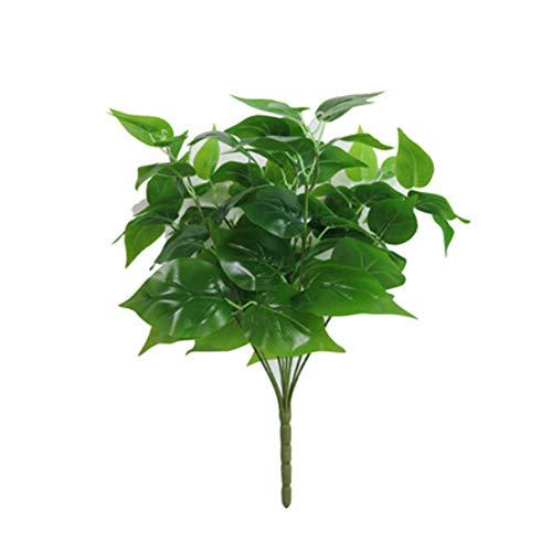es 1x grün Nachahmung Farn Kunststoff Künstliche Gras Blätter Pflanze für Home Hochzeit Decor ()