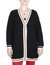 5c9cc9dd968a Kaos Twenty Easy Cardigan Donna Colore Nero Collezione  Autunno-Inverno 2018  19