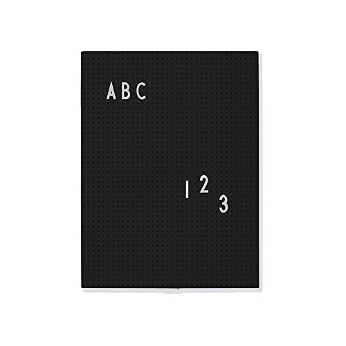 Design Letters - Message Board - Memobord - A4 schwarz