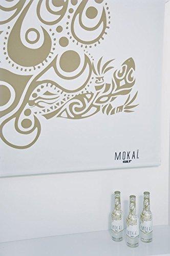 Debel Rollo Verdunklungs-Rollos für Fenster blickdicht bedruckt Kettenzug mit Muster beige Größe 80x175cm