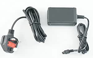 Mains Charger / Power Lead for Sony DCR-DVD306E DVD Handycam Camcorder - AAA Products - 12 Month Warranty
