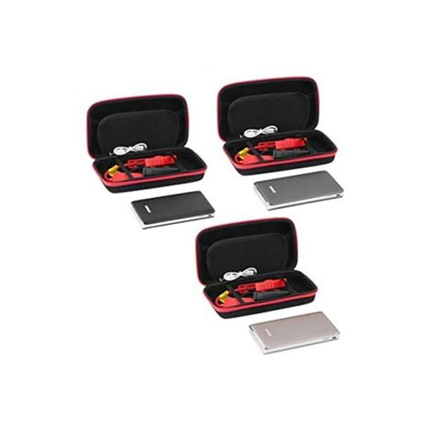 Gran capacidad 30000mAh Portátil Coche LED Arrancador Salto Arranque de emergencia Fuente de alimentación Vehículo Motor…