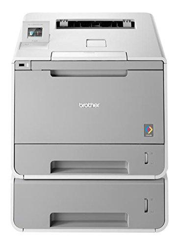Brother HL-L9200CDWT Farblaserdrucker (2,400 x 600 dpi, USB 2,0, WLAN) weiß