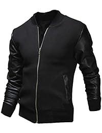 HOT ! Koly Gli uomini combattono cappotto giacca di pelle Slim Inverno slim collar rivestimenti casuali degli uomini di moda