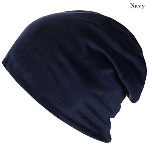 Heiße Weiche Motorhaube (MAOZIJIE Mode Frauen Plüsch Kopfbedeckungen Einfarbig Einfache Beiläufige Weiche Motorhaube Heiße Hüte Für Frauen Warme Strickmützen Caps Marke)