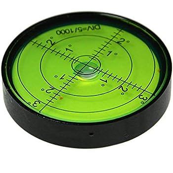 con fori di montaggio circolare Livella a bolla di precisione con disco da 90 mm UBEI