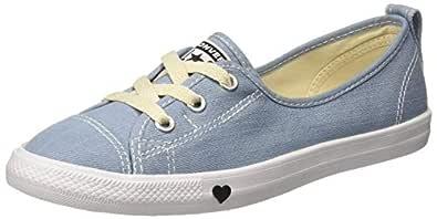 Converse Women's Textile Light Blue/White/Black Sneakers-5 UK/India (37.5 EU) (8907788166329)