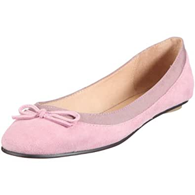 Buffalo London 207-3562 KID SUEDE 116543, Damen Ballerinas, Violett (VIOLET 23), EU 36