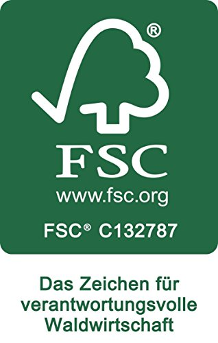 SAM® Garten-Bank Bananen-Bank aus Akazien-Holz, FSC 100% zertifiziert, 2 Sitzer Holzbank, Balkon-Bank aus Akazien-Holz geölt, Garten-Möbel braun, Massiv-Holz-Bank für Terrasse, 124 cm Breite - 4