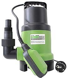 TrutzHolm® Schmutzwassertauchpumpe 400W 10.000 l/h Körnergröße 35 mm Schmutzwasserpumpe Tauchpumpe Brunnenpumpe Pumpe mit Schwimmer Abwasserpumpe Gartenpumpe Teich