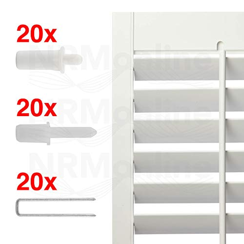 Plantation Shutter Repair Kit 60 | Pieces All You Need