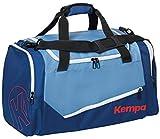 Kempa Unisex-Erwachsene Ebbe & Flut Sporttasche Umhängetasche, Mehrfarbig (Dove Ocean Blau), 27x56x32 cm