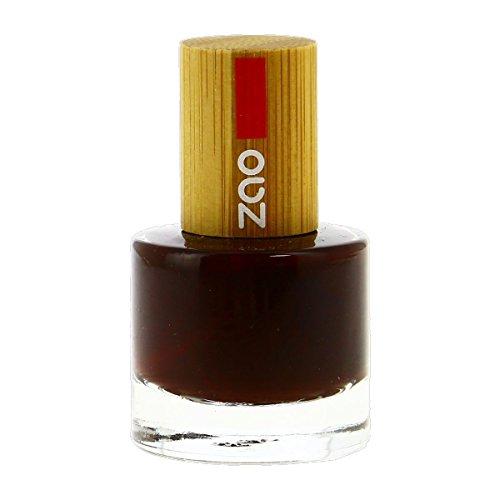 Zao Make-up - Vernis n°659 Cerise Noire 8Ml - Lot De 2 - Prix Du Lot - Livraison Rapide En France Métropolitaine Sous 3 Jours Ouverts