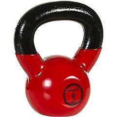 Idea Regalo - Movit® Kettlebell professionale, in ghisa, con rivestimento vinilico, 12varianti da 2a 24kg, b - 4,0 kg