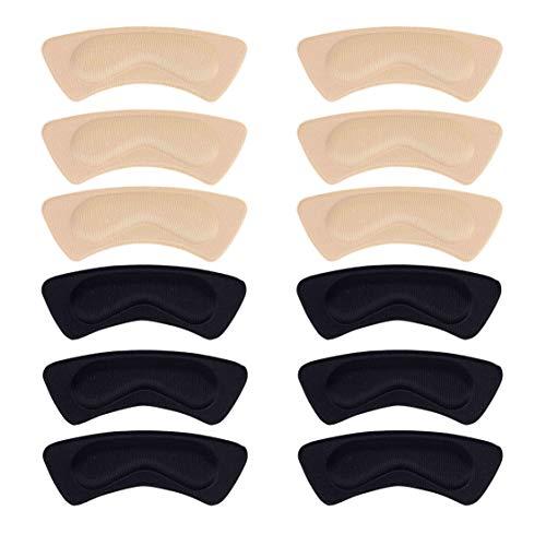 Fersenpolster Schuhe Pads Ferse Komfort Heel Grips Fersenschutz Selbstklebend Schuheinlagen Prevent Rubbing 6 Paare