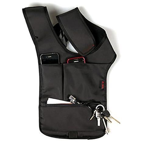dicoco Outdoor Gear caché aisselles épaule Messenger Sacs Sac à dos téléphone sac portefeuille sac tactique pour Cool pour homme