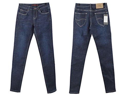 Alice & Elmer Stretch Vita Normale Skinny,Jeans Donna Blu scuro