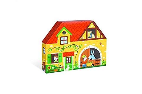 Janod - J08524 - Story Box Ferme Bois