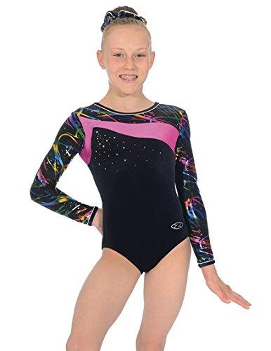justaucorps-de-gymnastique-multicolore-en-velours-et-lycra-a-manches-longues-macy-taille-30