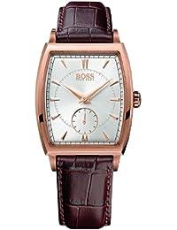 Hugo Boss Herren-Armbanduhr Analog Quarz Leder 1512846