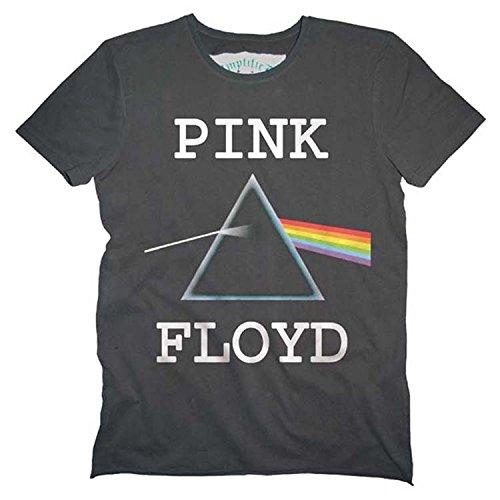 Amplified Pink Floyd-Dark Side of The Moon Camiseta, Gris...
