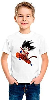 Camiseta dibujo Bola de Dragon. Tamaños de niño y tejido algodón 100%.