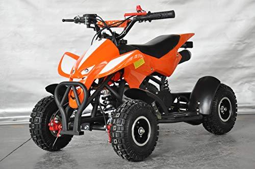 Mini quad infantil Raptor/Mini quad para niños de 3 a 8 años/Motor 49cc 2 tiempos (NARANJA)