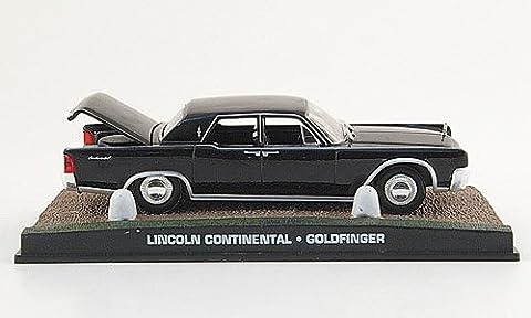 Lincoln Continental, noire, James Bond 007, 1964, voiture miniature, Miniature déjà montée, SpecialC.-007 1:43