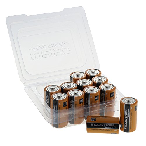 Duracell Batterie Industrial Baby C LR14 in 12er Box von Weiss - More Power + -