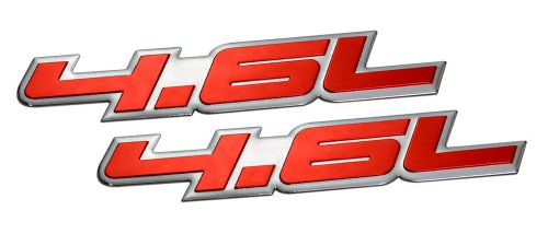 2-x-pair-set-46l-liter-embossed-red-on-highly-polished-silver-real-aluminum-auto-emblem-badge-namepl