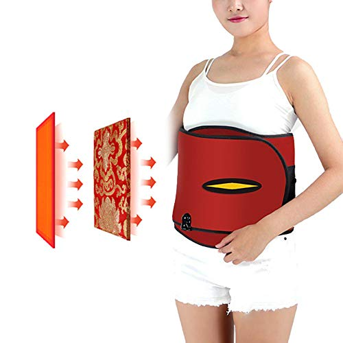 3 Block Vibration Massage Hüftgurt, Abnehmen Abnehmen Vibration Hüftgurt, Elektroheizung Heiße Kompresse Luftdruck Warmer Palast Gürtel