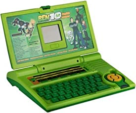 Amaz-Hub Ben10 English Lerner Educational Laptop|English Learning Computer | English Learner Laptop - 20 Activities|Multipurpose English Learner Laptop with LED Screen Ben10 Printed