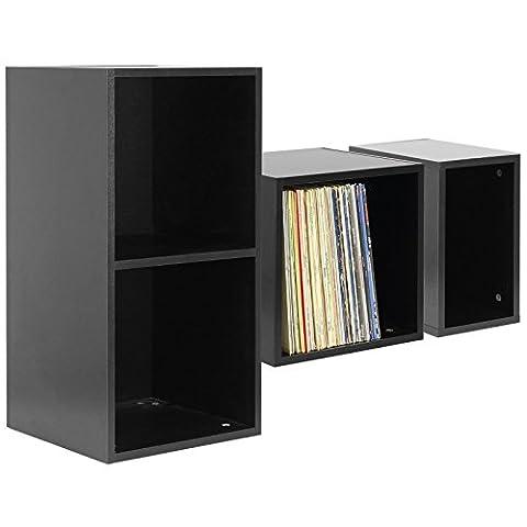 Hartleys Black Vinyl Record Storage Box