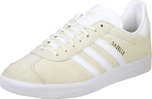 adidas Gazelle, Chaussures de Sport Homme Blanc (Casbla/Blanc/Dormet)