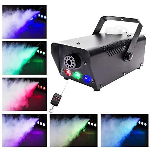 500W mit LED und Funk Fernbedienung RGB Lichteffekte für Halloween Hochzeit DJ Disco Party Bühne Licht ()