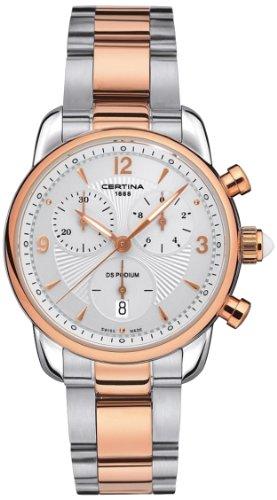 Certina Montre bracelet Femme XS Chronographe Quartz Acier Inoxydable c025.217.22.017.00