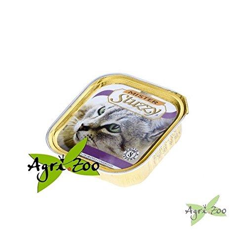 STUZZY CAT Mister pate' con prosciutto gr. 100 - Mangimi umidi per gatti