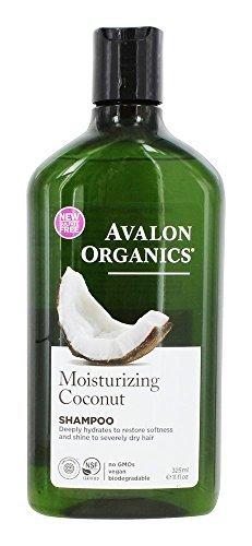 Avalon Organics Moisturising Coconut Shampoo 325ml