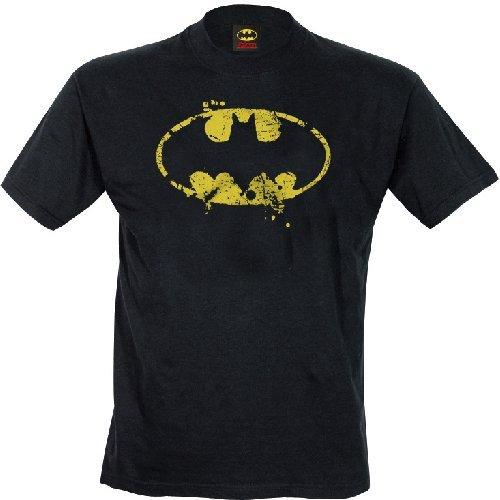 FDS Tshirt Batman DC Comics - Grunge Classic Logo