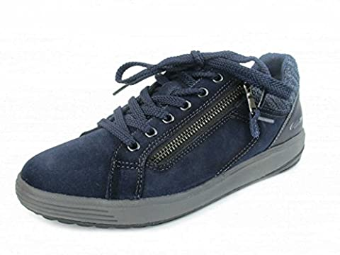 Mephisto P2005357 Madrigal Indacao, Chaussures de ville à lacets pour femme - bleu - bleu,