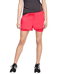 ESPRIT Sports Damen Sportshorts Active/Training Shorts aus Webstretchmaterial mit Unterer E-Dry Funktionshose