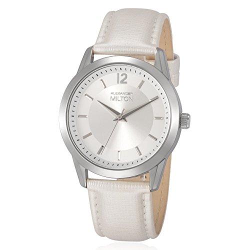 ALEXANDER MILTON - montre femme - EPONA, blanc/argente