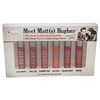 The Balm Meet Matte Hughes Set of 6 Mini Long-Lasting Liquid Lipsticks