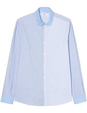 FIND Herren Hemd mit Streifenmuster