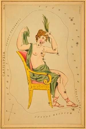 Feeling at Home Feelingathome-Leinwand-Bild-Cassiopeia,-1825-cm57x38-Kunstdruck-auf-Leinwand