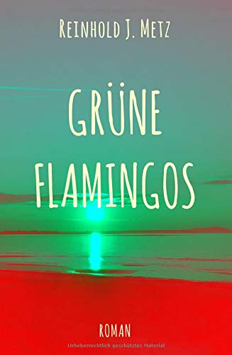 Grüne Flamingos