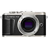 Olympus PEN E-PL9 16 MP Compact System Camera with Electric Zoom, 4k Movies, 3-Inch Display and Wi-Fi - Black