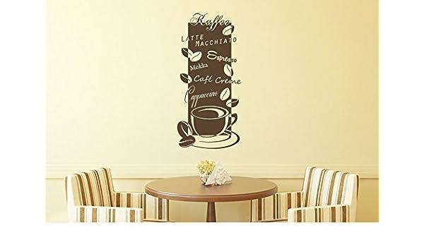 Wunderbar Wandtattoo Bilder® Wandtattoo Kaffee Nr 3 Coffee Cafe Küche Esszimmer  Banner Wandsprüche Größe 45x95,